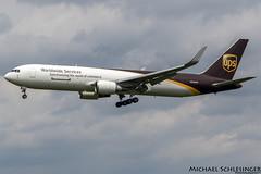 N338UP - Boeing 767-34AF(ER)(WL) - United Parcel Service (UPS) (MikeSierraPhotography) Tags: 767 air airlines boeing manufacturer plane spotting unitedparcelserviceups