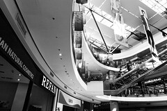 Curves (Alfred Grupstra) Tags: architecture escalator modern indoors builtstructure staircase transportation people urbanscene subwaystation airport business travel citylife station corridor abstract shoppingmall futuristic steps bulgaria