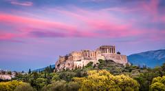 Acropolis (davecurry8) Tags: athens greece europe attica acropolis sunset parthenon travel