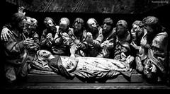 La Dormición de la Virgen (ricardocarmonafdez) Tags: madrid escultura talla sculpture detail texture texturas detalles lighting light luz sombras shadows barroco arte monocromo monochrome blackandwhite bn nikon d850 24120f4gvr