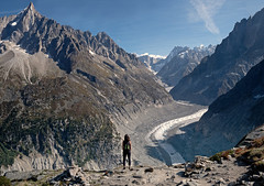 Chamonix Valley (Capchure.ch) Tags: france mountains valley chamonix snow rocks alps alpine glacier peaks hiker hiking rock climbing