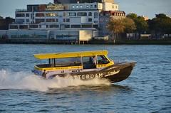 Watertaxi (Hugo Sluimer) Tags: portofrotterdam port haven onzehaven nlrtm rotterdam zuidholland holland nederland