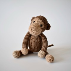 Mick the Monkey (Knitting patterns by Amanda Berry) Tags: patons fairytale fab 4ply yarn wool knit knits knitted knitter knitting knitters pattern patterns toys toy flat straight monkey monkeys handmade hand mick simply amanda berry fluff fuzz brown ape apes chimp chimps makers making hobbies hobby
