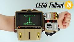 Lego Fallout 76 Pip-Boy 2000 MK VI (LEGOParadise) Tags: fallout 76 pip boy pipboy bethesda