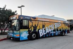 MTS Bus (So Cal Metro) Tags: bus metro transit mts sandiegotransit sandiego gillig advantage lowfloor bus8327 8300 rt875 elcajon beachbus wrap ad promo promotion
