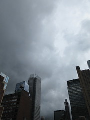 2018 Hurricane Michael Skittering Past NYC 2331 (Brechtbug) Tags: 2018 october hurricane michael skittering past nyc virtual clock tower from hells kitchen clinton near times square broadway new york city midtown manhattan 10112018 stormy weather building no hanging cumulonimbus storm cumulus nimbus cloud fall hell s nemo southern view ny1