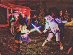 Well Lily fought a storm trooper and won. I felt safe knowing she was with us after this. Hopefully she doesn't go to the dark side! #scarecrowcosplay #scarecrowsarebrave #jedi #theforce #lightsabers #lightsaberfight #stromtrooper #thedarkside #battle #co (■'''■■'''■) Tags: ifttt instagram well lily fought storm trooper won i felt safe knowing she was with us after this hopefully doesn't go dark side scarecrowcosplay scarecrowsarebrave jedi theforce lightsabers lightsaberfight stromtrooper thedarkside battle costume rey jedimindtricks starwars wookie solo luke usetheforce fight love october 14 2018 0907am black white yellow green blue red orange purple sky clouds flickr follow me happy smile