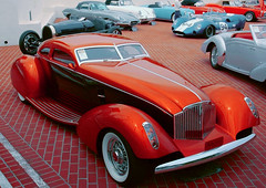"""1934 Packard """"Myth"""" Boattail Coupe (partsavatar) Tags: cars classic vintage retro canada vancouver montreal toronto autoparts carparts replacementparts aftermarket fall autumn october halloween hallows boattailcoupe coupe packard"""