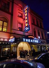 Grand Theater - Salem Oregon. (coljacksg) Tags: historic art deco theater salem oregon crowd marquee goers film opera house panasonic gx8 lumix1235mmf28