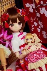Happy Mid-Autumn Festival! (kwokt59) Tags: doll az azone azonejp volks piconemo mini dollfie dream lil fairy 112 13 14 midautumn festival chinese dresses