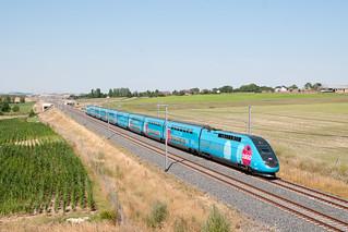 Train 7695 à Bourscheid