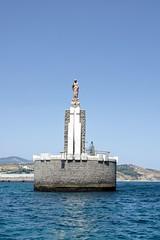 Tarifa statue christ (Marc ALMECIJA) Tags: tarifa espagne andalousie sony rx10m3 mer mar se port puerto outside outdoor