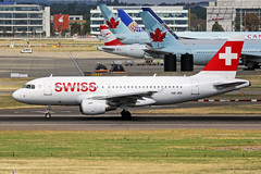 HB-IPX 2 Airbus A319-112 Swiss International Airlines LHR 09SEP18 (Ken Fielding) Tags: hbipx airbus a319112 swissinternationalairlines aircraft airplane airliner jet jetliner