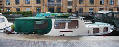 Bike Repair Boat (eibonvale) Tags: london regentscanal islington boat canal waterway