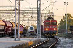 HZ 1141 310, Križevci (josip_petrlic) Tags: hž hrvatske željeznice železnice željeznica zeleznice zeljeznice zug croatian railways railway railroad eisenbahn electric locomotive lokomotiva locomotiva locomotora hz ferrovia ellok končar 1141 asea