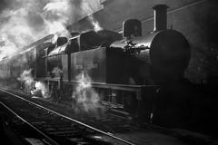 47324 44422 Bury R00384 D210bob  290106 (D210bob) Tags: 47324 44422 bury d210bob 290106 passengertrain railwayphotographs railwayphotography railwayphotos railwaysnaps nikond100 monochrome monochromephotography eastlancsrailway nikon nikond90 blackwhitephotography blackwhite britishrailways londonmidlanddivision northwestrailways r00384
