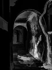 7096 Keeping in the Shadows (foxxyg2) Tags: mono monochrome bw topazstudio niksoftware dxo silverefex filoti naxos cyclades greece greekislands isalndhopping islandlife dark shadows blackwhite hk highkey topaz topazsoftware highcontrast