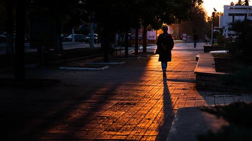 Sunset in Tiraspol - Moldova - Street photography