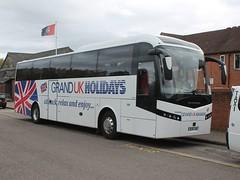 BU16 UWY - Olympia (quicksilver coaches) Tags: volvo b11r jonckheere shv olympia hindley wigan grandukholidays bu16uwy buckingham