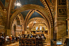 Basilica di San Francesco , Assisi (maresaDOs) Tags: chiesa basilica umbria assisi it italia sanfrancesco reliquie église church kirche iglesia igreja giotto dipinti affreschi arte arts