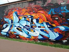 Hesa by Gosh (Capras Crew) Tags: capras caprascrew antwerpen europa graffiti italy meetigofstyles napoli neverdie nofake original truecaprasneverdie world ak aerosolking 2018 gosh explore
