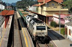 MOLTA FUSTA (Andreu Anguera) Tags: ferrocarril tren mercaderies mercancias locomotora333 madera ferrolzaragoza betanzosinfesta acoruña galicia andreuanguera