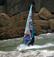 Photos Marco BP (43) (marcbihanpoudec) Tags: plancheàvoile porspoder vent presquiledesaintlaurent vagues