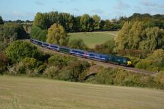 43042. Hungerford. 01-10-2018 (*Steve King*) Tags: great western class 43 hst hungerford 1a77 railway passenger service berks hants high speed train ker