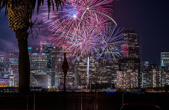 2018 fleet week fireworks 8 (pbo31) Tags: sanfrancisco california nikon d810 color city urban october 2018 boury pbo31 fall night black dark fireworks show fleetweek treasureisland skyline ferrybuilding hotel hyatt