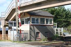 Photo of Ferryside signal box