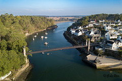 DJI_0029-2 (gael.lebrun56) Tags: bridge brittany bretagne pont suspendu sea mer marée drone