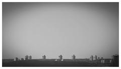 horizon (haidem3) Tags: cityscapes skyscape sky houses urban horizon bw