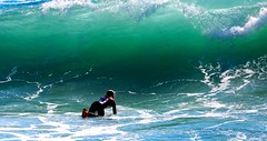 In front of the wave - Tel-Aviv beach - Follow me on Instagram:  @lior_leibler_photography (Lior. L) Tags: infrontofthewavetelavivbeach infrontofthewave telaviv beach sea surfer wave surfing surf telavivnorthbeach israel isreal