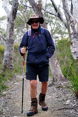 20181015-02-Three Capes Track day 4 - Hikers (Roger T Wong) Tags: 2018 australia np nationalpark rogertwong sel24105g sony24105 sonya7iii sonyalpha7iii sonyfe24105mmf4goss sonyilce7m3 tasmannationalpark tasmanpeninsula tasmania threecapestrack bushwalk hike outdoors person portrait tramp trek walk