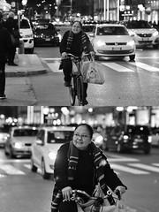 [La Mia Città][Pedala] (Urca) Tags: milano italia 2018 bicicletta pedalare ciclista ritrattostradale portrait dittico bike bcycle nikondigitale scéta biancoenero blackandwhite bn bw 115841