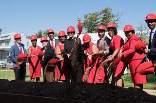 MMB at Delta Towers Ground Breaking