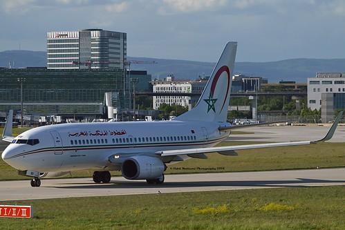 RAM Royal Air Maroc CN-RNV Boeing 737-7B6 Winglets cn/28988-1261 @ EDDF / FRA 30-04-2018