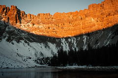 Baker Lake (Yildunstar) Tags: greatbasin nevada backpacking bakerlake facade sunrise landscape