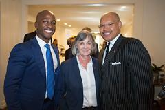 Councilmembers Tyron Hampton, Margaret McAustin & John J. Kennedy