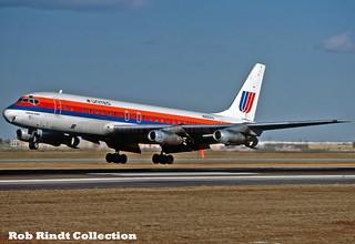 United Airlines DC-8-21 N8001U