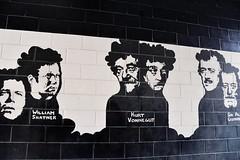 Stratford Mural (mmollame18) Tags: mural wall aint black white brick actress stratford ontario