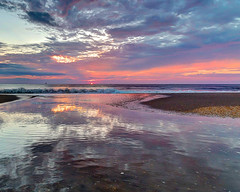 Morning Canvas (aka Buddy) Tags: 2018 summer sunrise beach atlantic ocean seabright nj og hdr