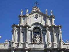 Catania, Sant'Agata cathedral (Sokleine) Tags: cathédrale cathedral catholic religion culte heritage historic santagata catania catane sicilia sicile italia italie italy