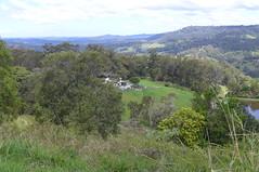 Countryside west of Woombye in the Sunshine Coast hinterland (tanetahi) Tags: woombye queensland sunshinecoasthinterland landscape terrain view panorama rural farmland tanetahi