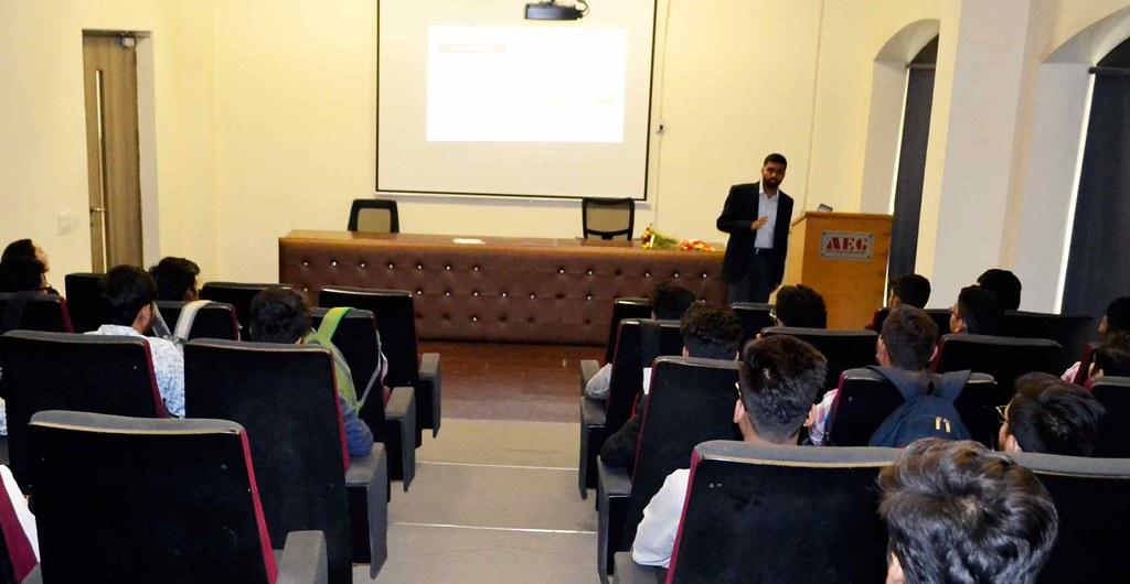 ASB Distinguished Lecture Series – Mr. Srinivas Reddy P
