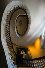 Spiral (BenBuildsLego) Tags: south carolina sony a6000 beautiful beauty stairs staircase spiral architecture charleston colonial wealthy house home history historic american america usa winding