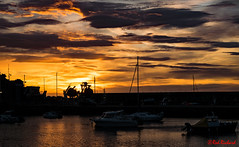 Stonehaven Harbour sunrise 1 (red.richard) Tags: sunrise stonehaven harbour sky sea