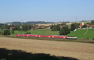 """218 460 """"Conny"""" bei Thann-Matzbach"""