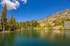 BareIslandLake5Sept1-18 (divindk) Tags: bareislandlake california maderacounty sierranationalforest backpacking camping granite lake quiet reflection serene trees