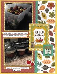 Hello Autumn  (1) (nylenebudge) Tags: layout 2photos echopark enameldots brad